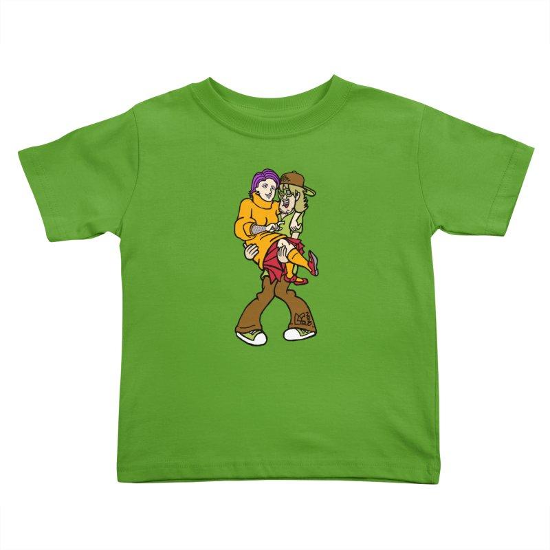Shaggy 2 Doey Kids Toddler T-Shirt by DoeyJoey's Artist Shop