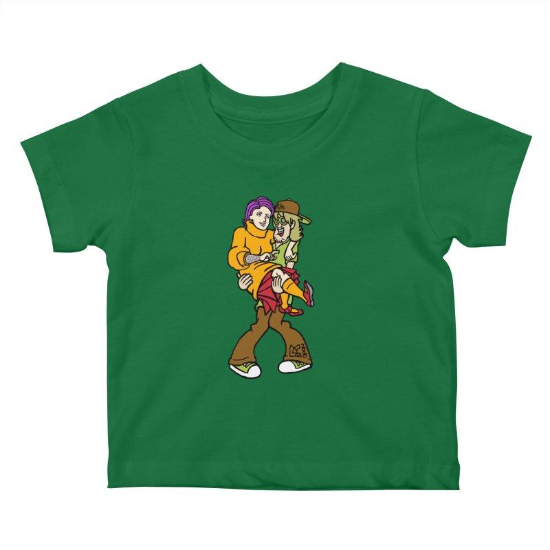 Shaggy 2 Doey Kids Baby T-Shirt by DoeyJoey's Artist Shop
