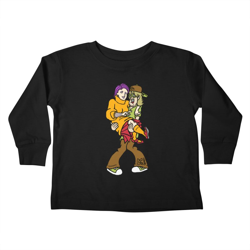 Shaggy 2 Doey Kids Toddler Longsleeve T-Shirt by DoeyJoey's Artist Shop