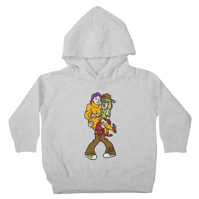 Shaggy 2 Doey Kids Toddler Pullover Hoody by DoeyJoey's Artist Shop
