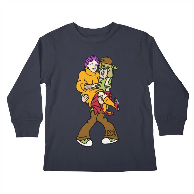 Shaggy 2 Doey Kids Longsleeve T-Shirt by DoeyJoey's Artist Shop