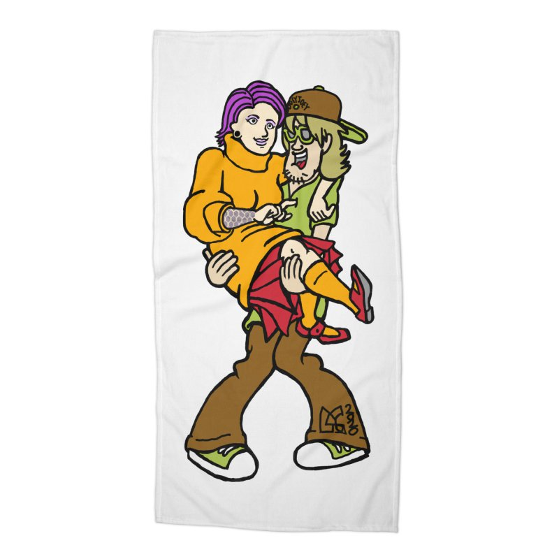 Shaggy 2 Doey Accessories Beach Towel by DoeyJoey's Artist Shop