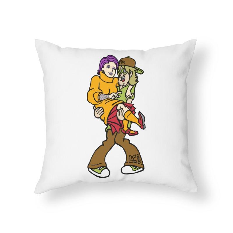Shaggy 2 Doey Home Throw Pillow by DoeyJoey's Artist Shop