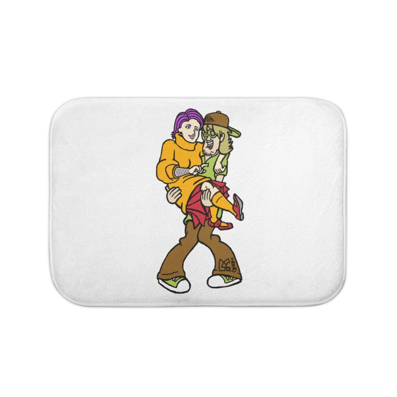 Shaggy 2 Doey Home Bath Mat by DoeyJoey's Artist Shop