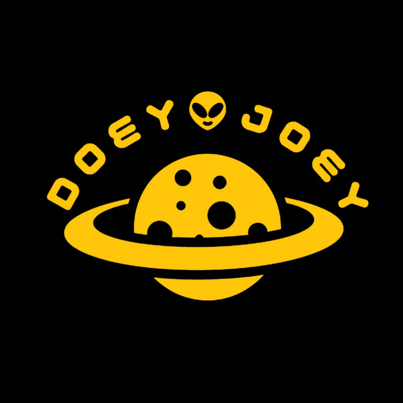 Gold Doey UFO-ey Men's T-Shirt by DoeyJoey's Artist Shop