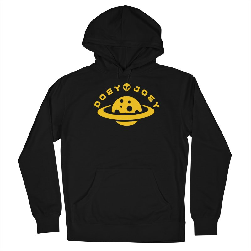 Gold Doey UFO-ey Men's Pullover Hoody by DoeyJoey's Artist Shop