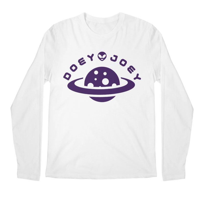 Purple Doey UFO-ey Men's Longsleeve T-Shirt by DoeyJoey's Artist Shop