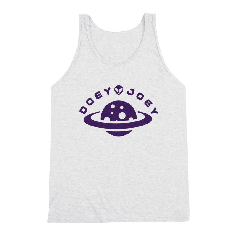 Purple Doey UFO-ey Men's Tank by DoeyJoey's Artist Shop