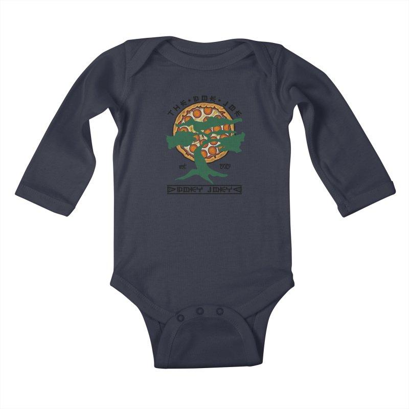 Doe Joe Logo Kids Baby Longsleeve Bodysuit by DoeyJoey's Artist Shop