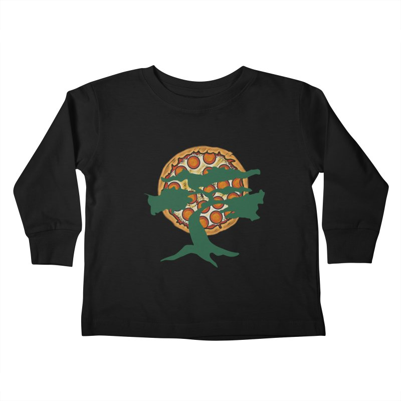 Doe Joe Logo Kids Toddler Longsleeve T-Shirt by DoeyJoey's Artist Shop