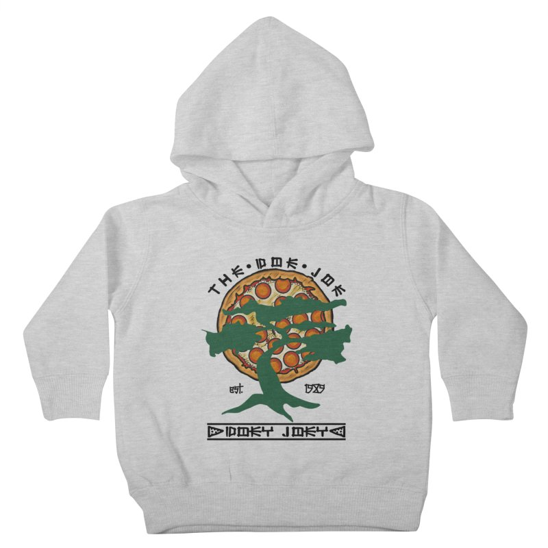 Doe Joe Logo Kids Toddler Pullover Hoody by DoeyJoey's Artist Shop