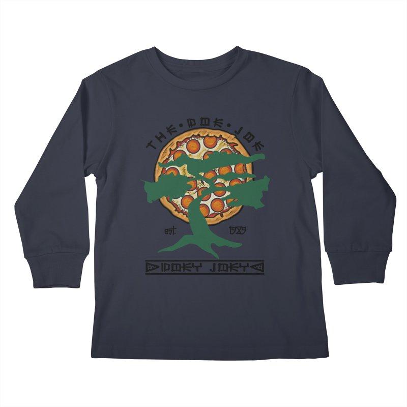 Doe Joe Logo Kids Longsleeve T-Shirt by DoeyJoey's Artist Shop