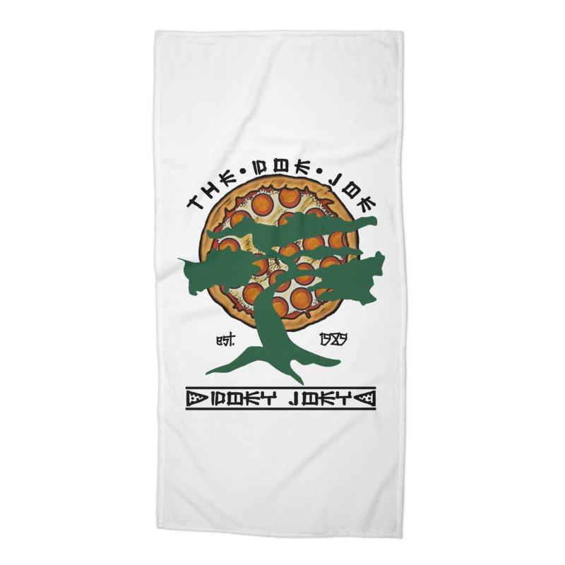 Doe Joe Logo Accessories Beach Towel by DoeyJoey's Artist Shop
