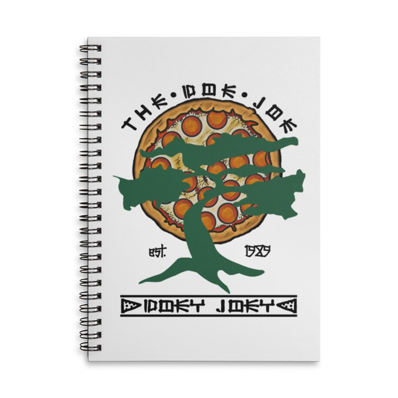 Doe Joe Logo Accessories Notebook by DoeyJoey's Artist Shop