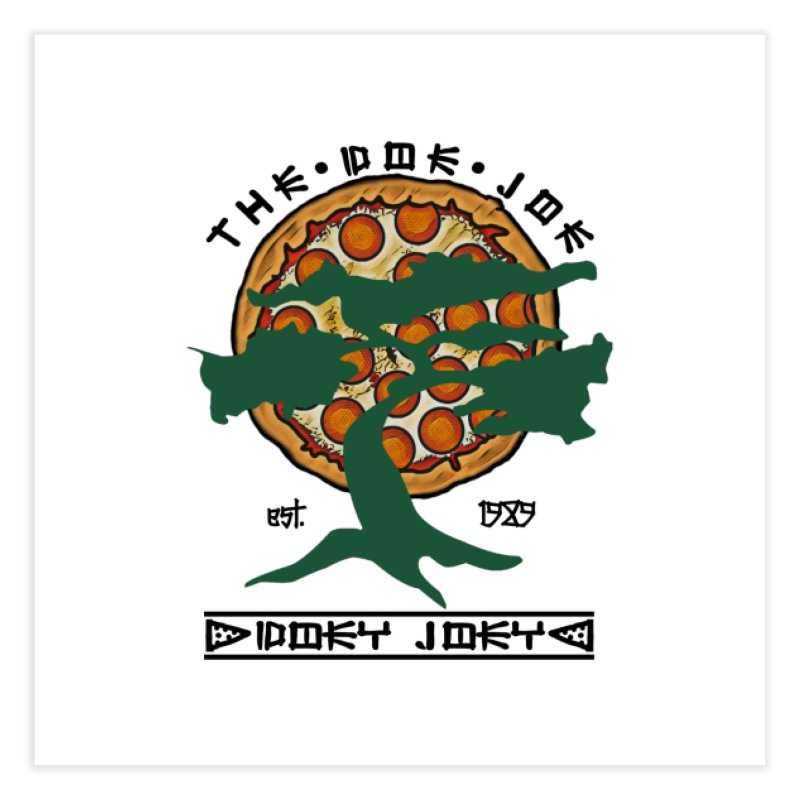 Doe Joe Logo Home Fine Art Print by DoeyJoey's Artist Shop