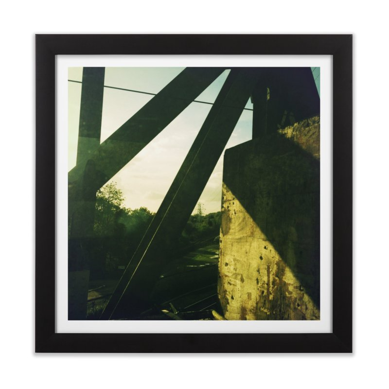 View from the train 1 Home Framed Fine Art Print by Dogfish's Merch