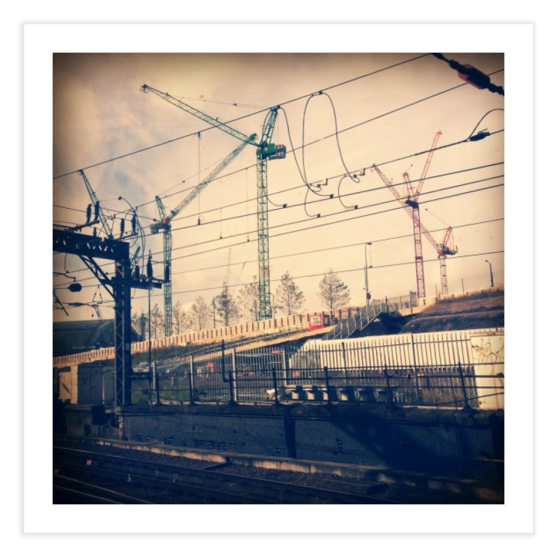 View from the train 2 Home Fine Art Print by Dogfish's Merch