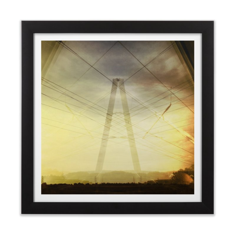 View from the train 4 Home Framed Fine Art Print by Dogfish's Merch