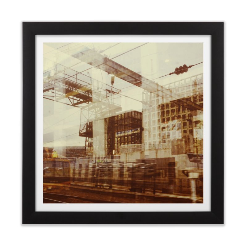 View from the train 5 Home Framed Fine Art Print by Dogfish's Merch