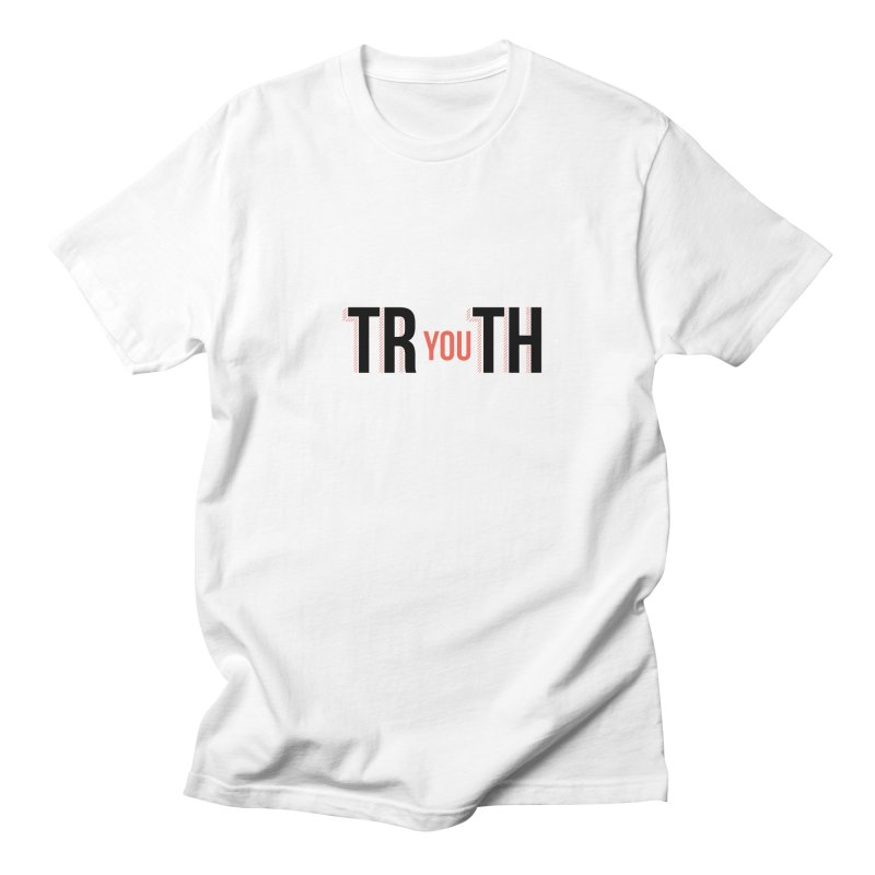TRUTH Men's Regular T-Shirt by Tristan Young