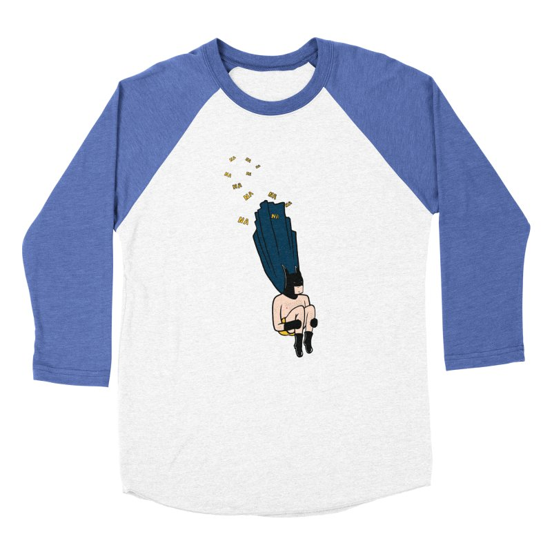 Bat Bomb Women's Baseball Triblend Longsleeve T-Shirt by Tristan Young