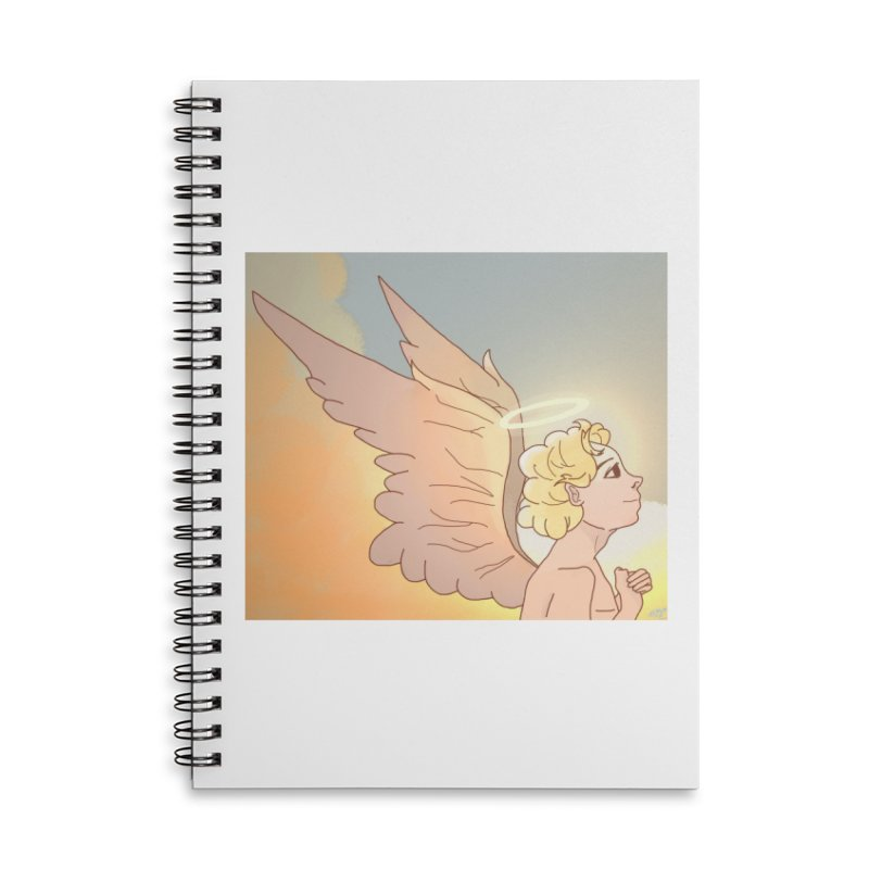Grant Us Peace Accessories Lined Spiral Notebook by Dove's Flight