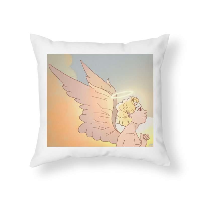 Grant Us Peace Home Throw Pillow by Dove's Flight