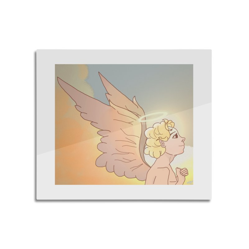 Grant Us Peace Home Mounted Aluminum Print by Dove's Flight