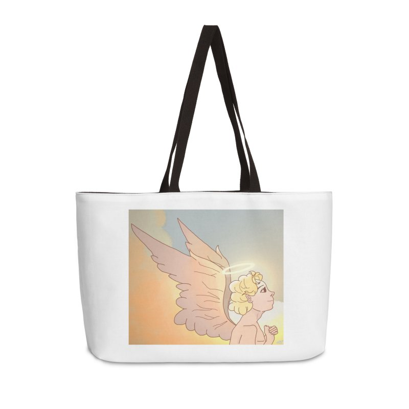 Grant Us Peace Accessories Weekender Bag Bag by Dove's Flight