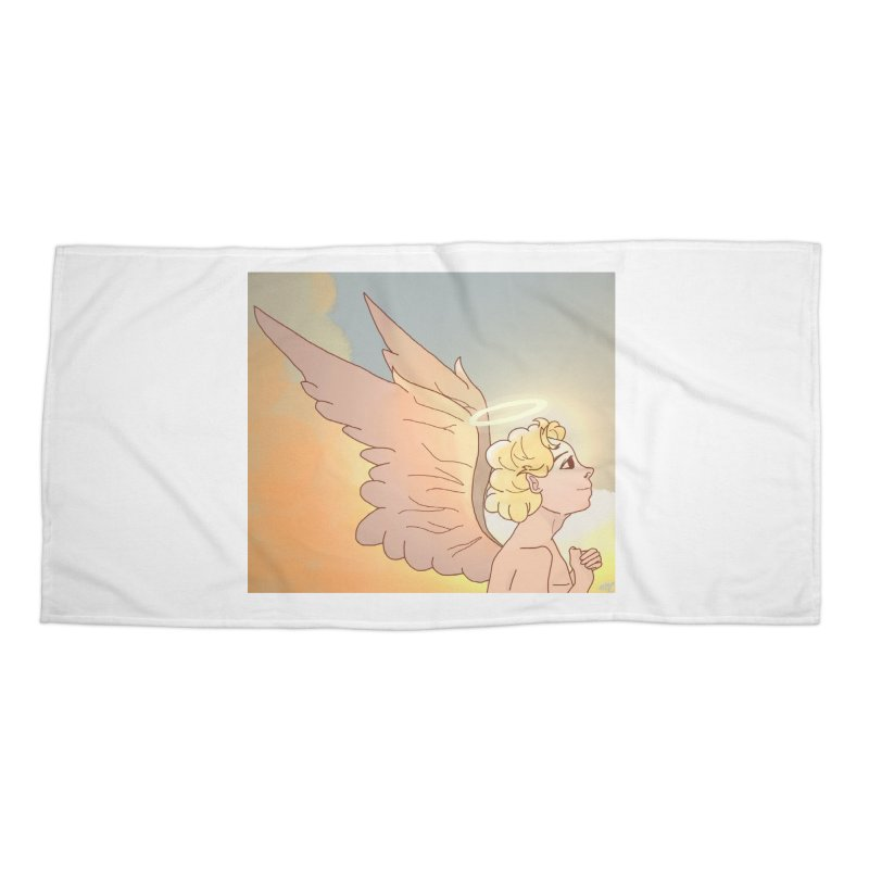 Grant Us Peace Accessories Beach Towel by Dove's Flight