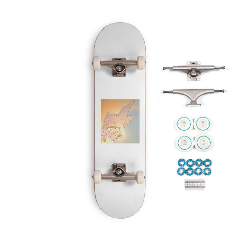 Grant Us Peace Accessories Complete - Basic Skateboard by Dove's Flight