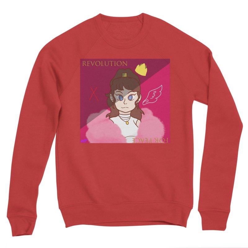 Choose Your Revolt Men's Sponge Fleece Sweatshirt by Dove's Flight