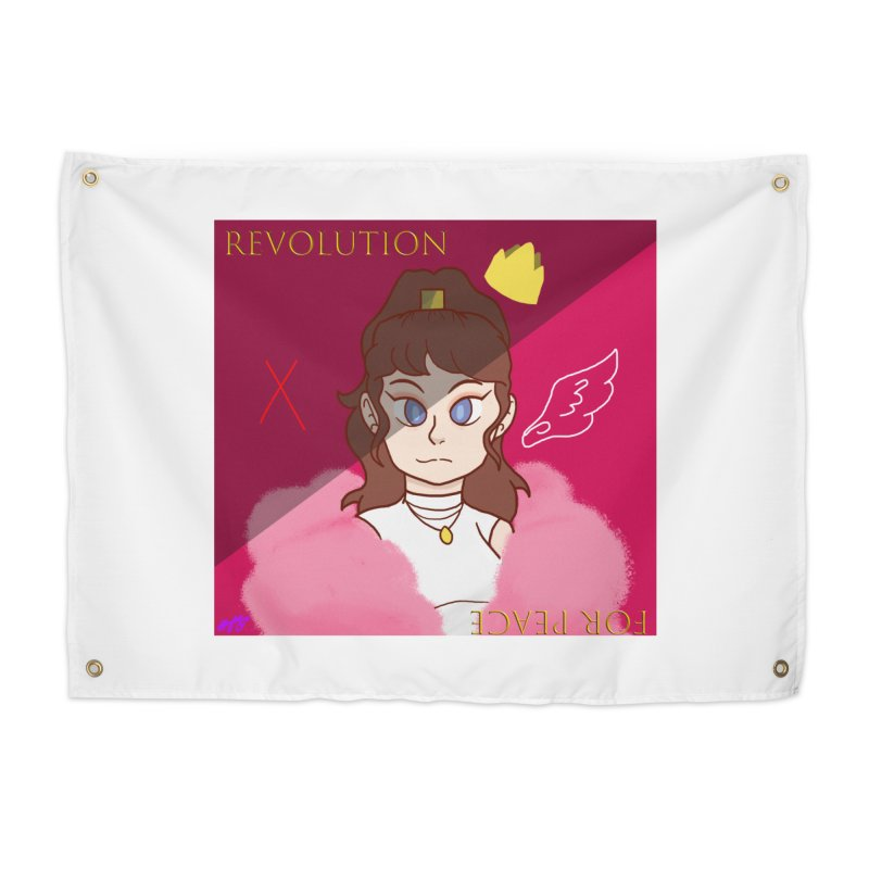 Choose Your Revolt Home Tapestry by Dove's Flight