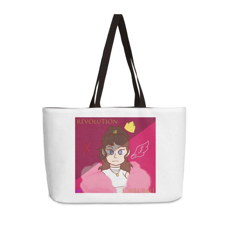 Choose Your Revolt Accessories Weekender Bag Bag by Dove's Flight