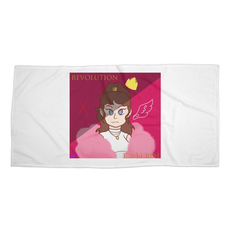 Choose Your Revolt Accessories Beach Towel by Dove's Flight