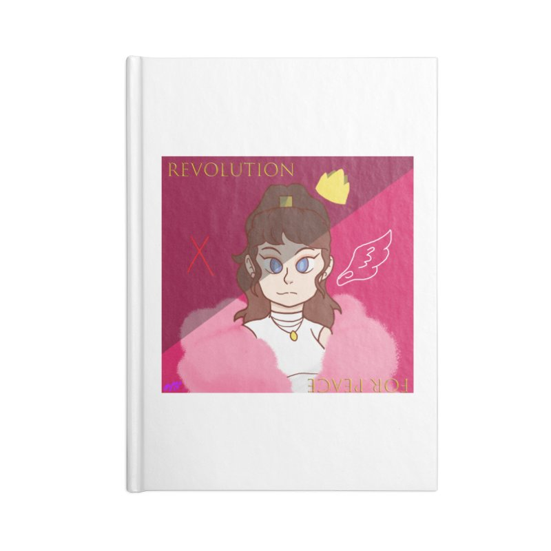 Choose Your Revolt Accessories Lined Journal Notebook by Dove's Flight