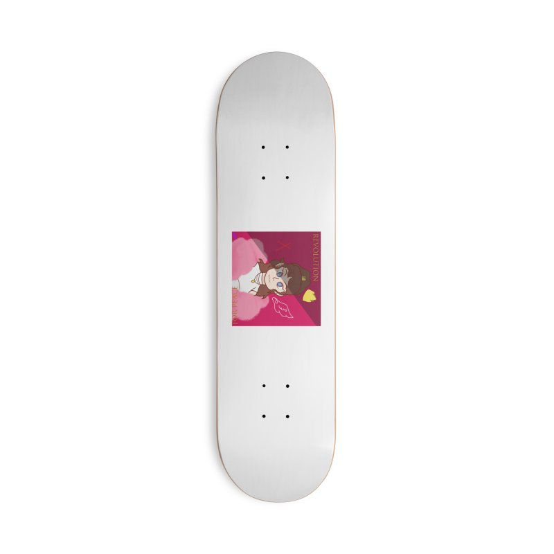 Choose Your Revolt Accessories Deck Only Skateboard by Dove's Flight
