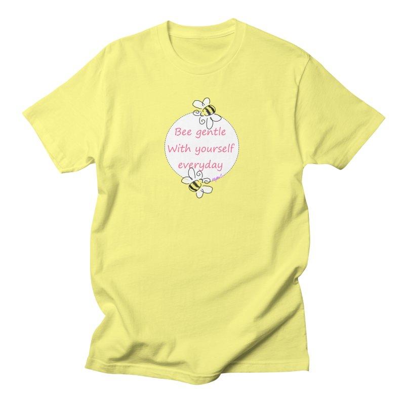 Bee Gentle Men's T-Shirt by Dove's Flight