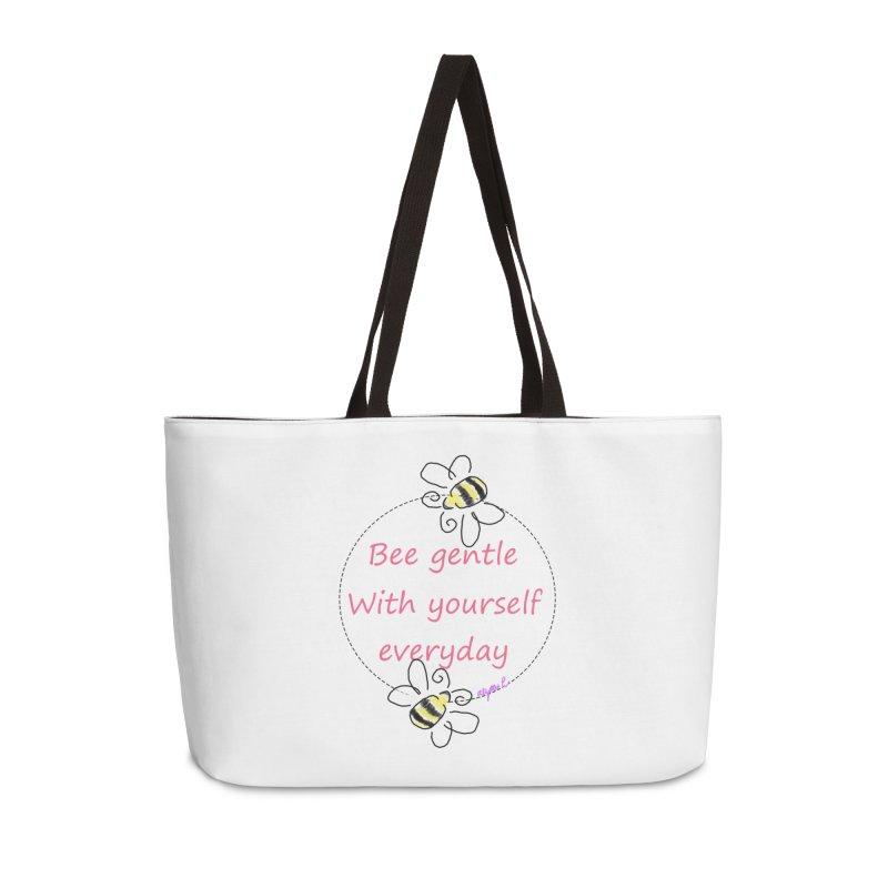 Bee Gentle Accessories Weekender Bag Bag by Dove's Flight