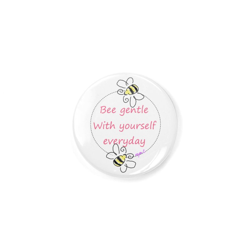 Bee Gentle Accessories Button by Dove's Flight