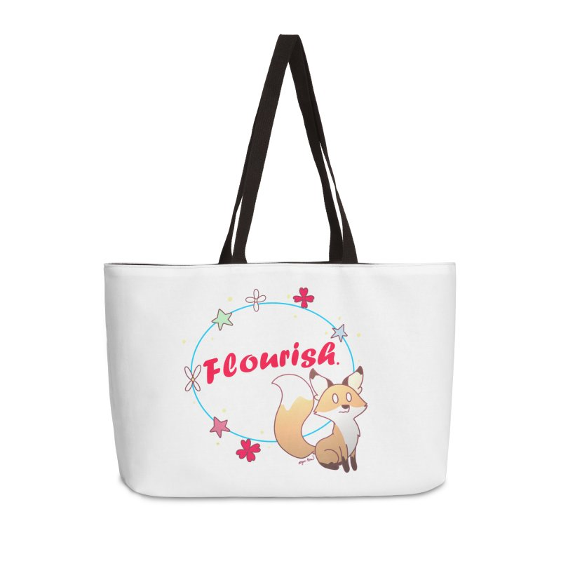 Flourish Fox Accessories Weekender Bag Bag by Dove's Flight