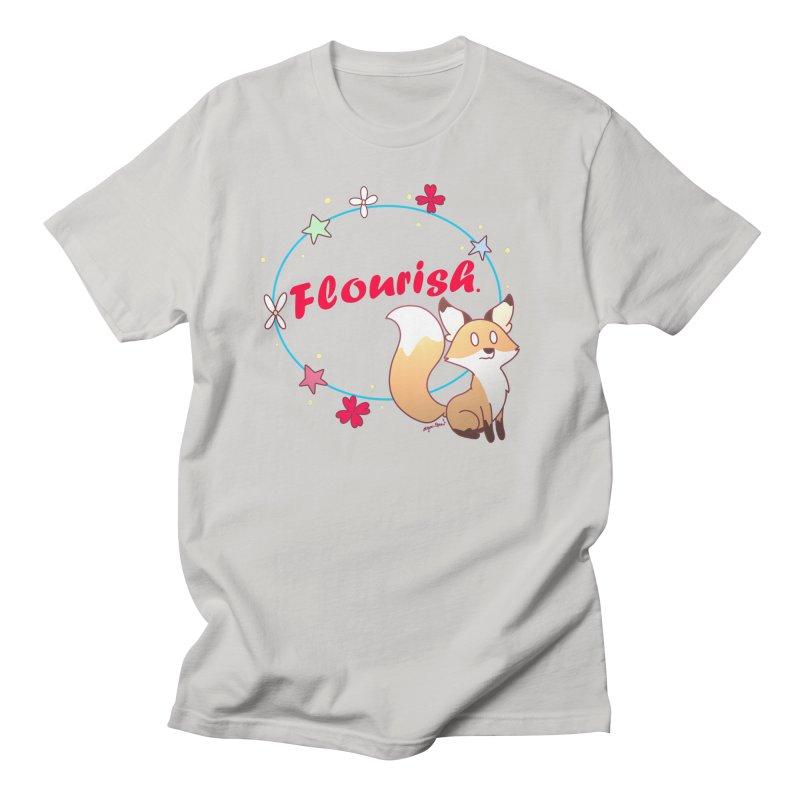 Flourish Fox Men's T-Shirt by Dove's Flight