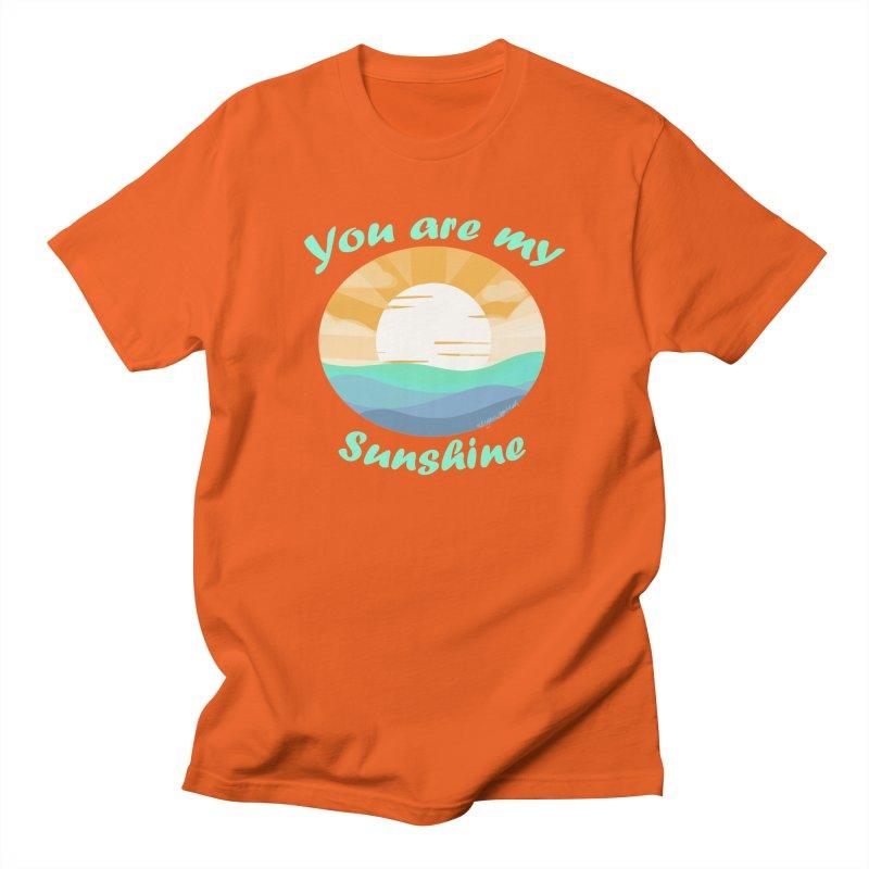 Sunshine Spirit Men's T-Shirt by Dove's Flight
