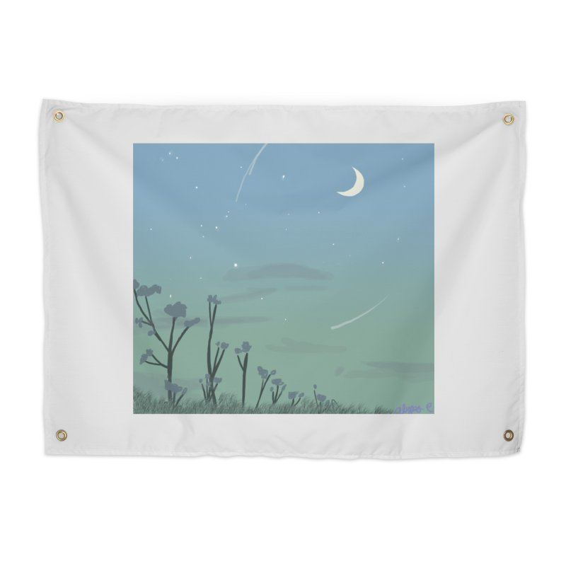 Summer Nights Home Tapestry by Dove's Flight
