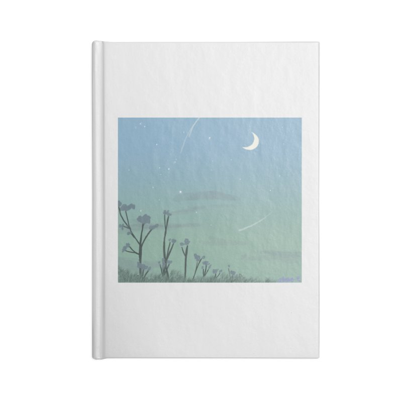 Summer Nights Accessories Lined Journal Notebook by Dove's Flight
