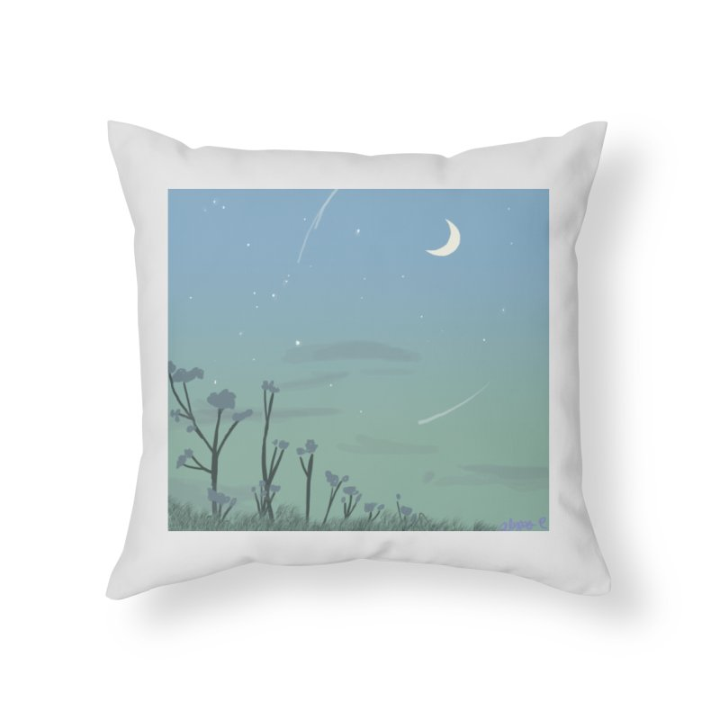 Summer Nights Home Throw Pillow by Dove's Flight