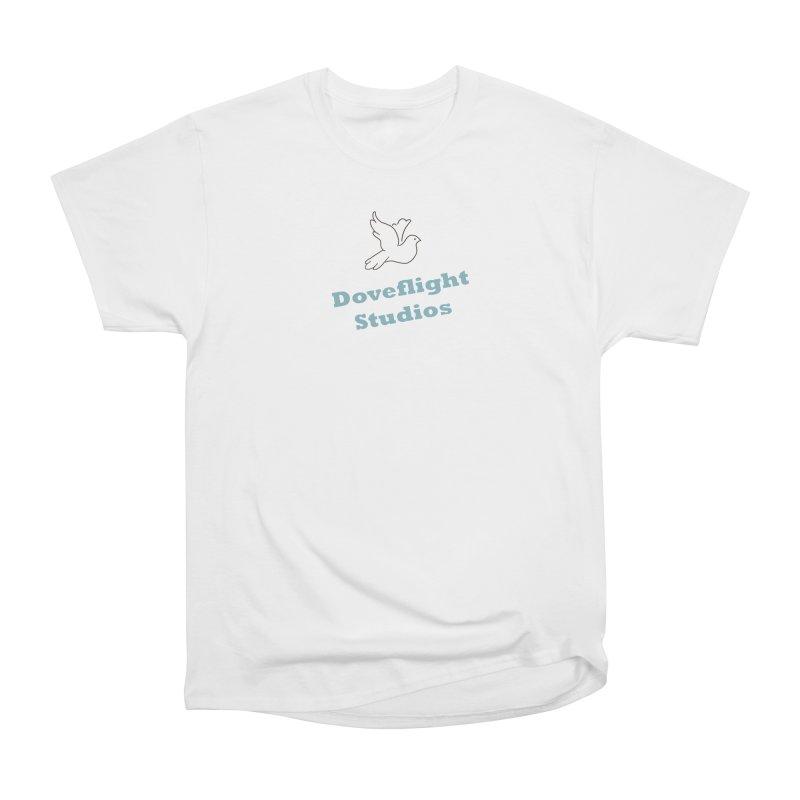 Doveflight Studios Official Logo Women's Heavyweight Unisex T-Shirt by Dove's Flight
