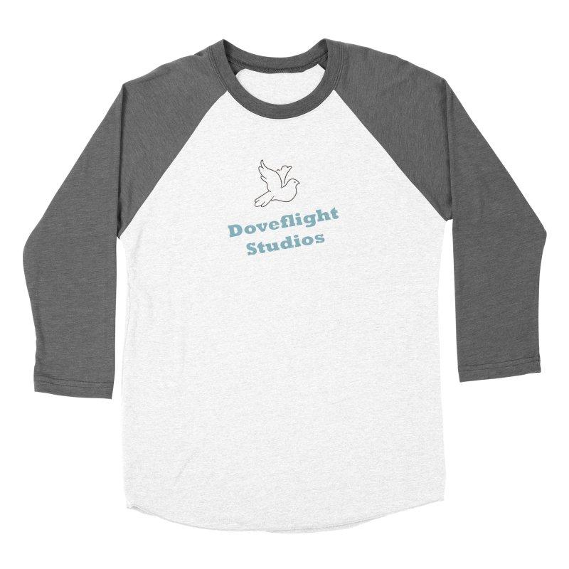 Doveflight Studios Official Logo Men's Baseball Triblend Longsleeve T-Shirt by Dove's Flight