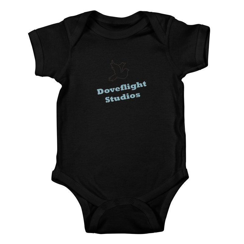 Doveflight Studios Official Logo Kids Baby Bodysuit by Dove's Flight