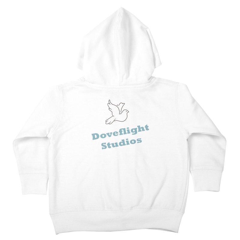 Doveflight Studios Official Logo Kids Toddler Zip-Up Hoody by Dove's Flight